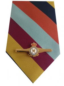 RAF Regiment Tie & Tie Clip Set e221 Royal Air Force